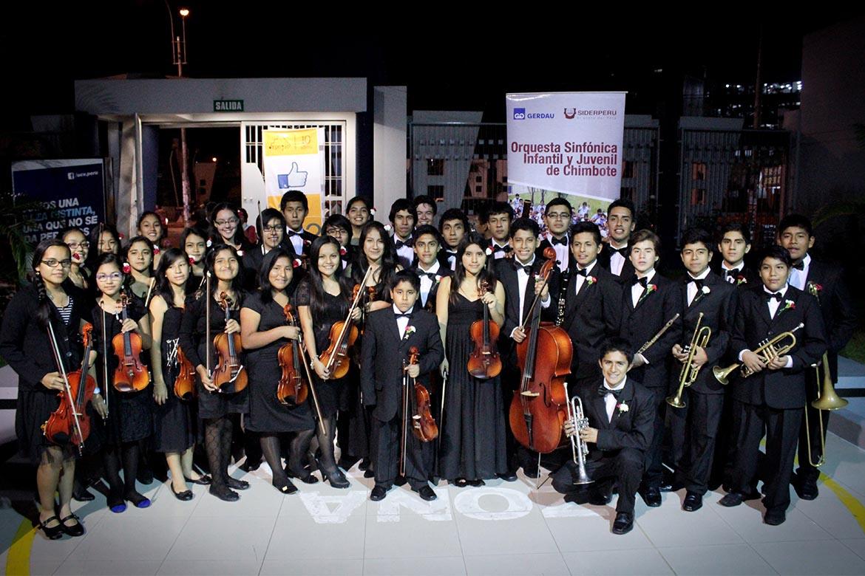 Orquesta Orquesta Sinfónica Infantil Juvenil de Chimbote Arpegio Perú
