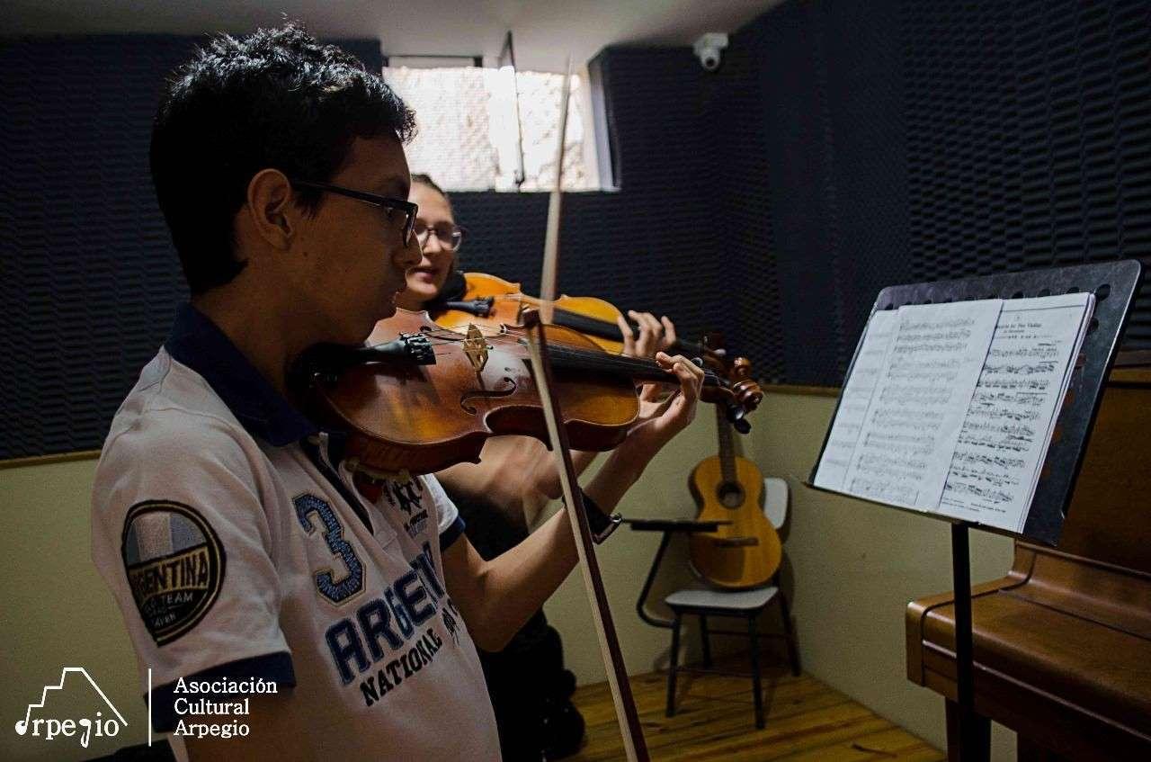 Inicio de clases Arpegio Perú- Abril 2018