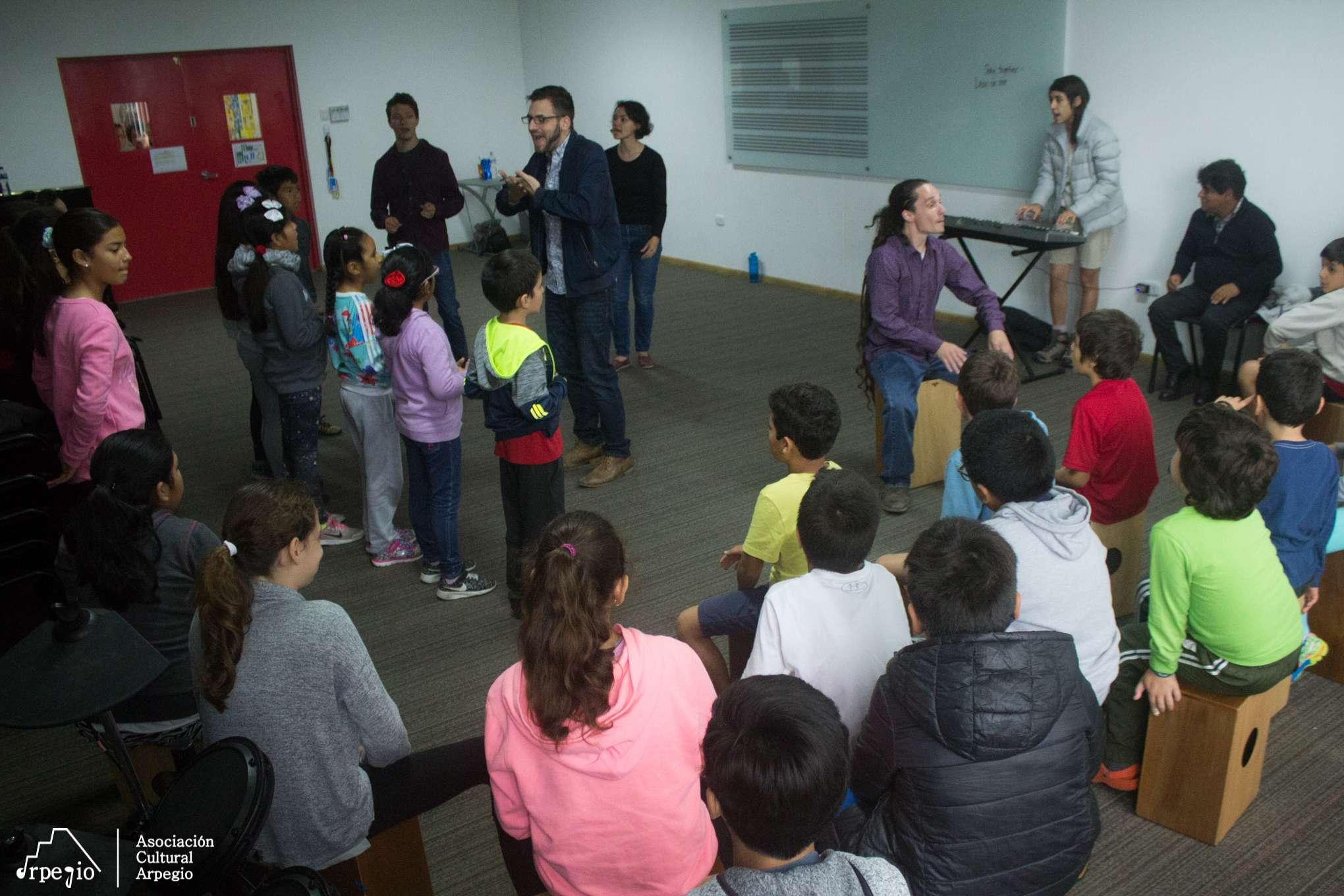 Visita de  TEACHING ARTISTS INTERNATIONAL (TAI) 2018